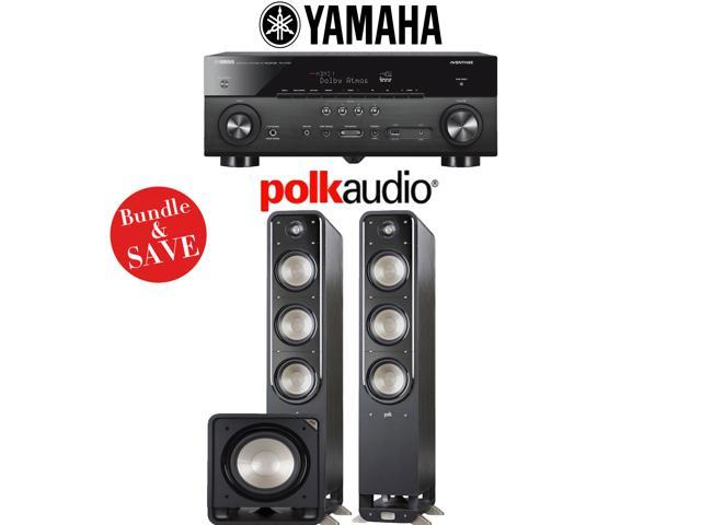 Yamaha RX-A780 AVENTAGE 7 2-Channel AV Receiver + Polk Audio S60 + Polk  Audio HTS12-2 1-Ch Home Theater Package - Newegg com