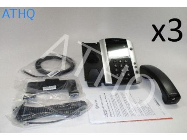 POLYCOM VVX 500 IP Gigabit Phone 12-line Business Media Phone POE Touch Screen