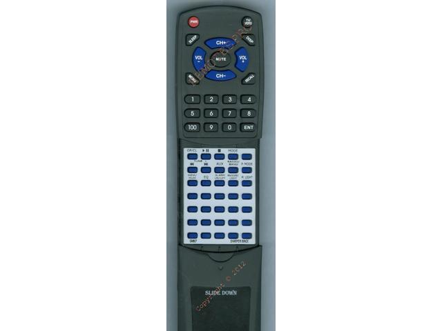 Sharper Image Replacement Remote Control For Gm807 Neweggcom