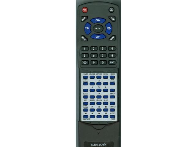 BDP2285F7 Replacement Remote for Philips 996580000587 BDP2305F7 BDP2205F7