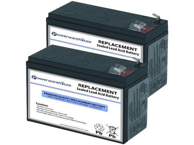 Powerwarehouse APC BK650-AS UPS Battery - Premium Powerwarehouse 12V Lead  Acid Battery Catridge #17 (2 Pack) - Newegg com