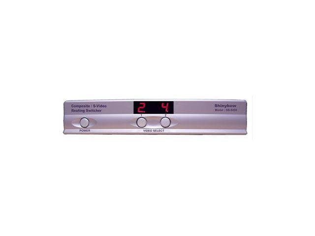 Shinybow SB-5450 4x2 Composite Matrix Routing Switcher w//3-Yr Warranty