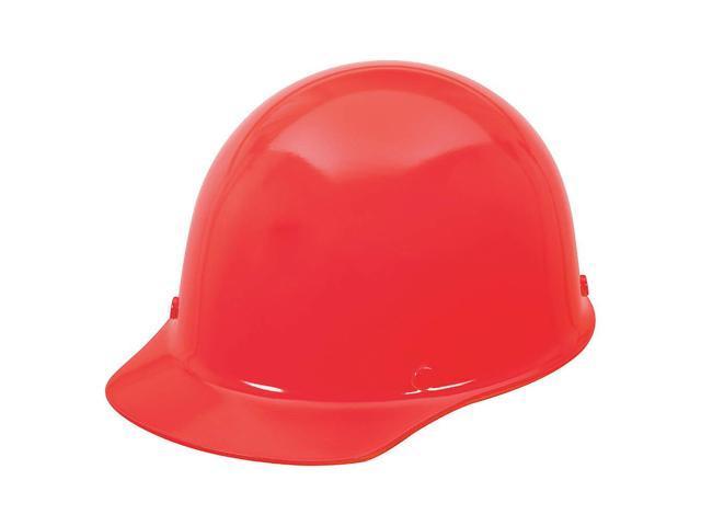 MSA Safety 454620 Skullgard Protective Cap Red w/ Staz-On Suspension -  Newegg com