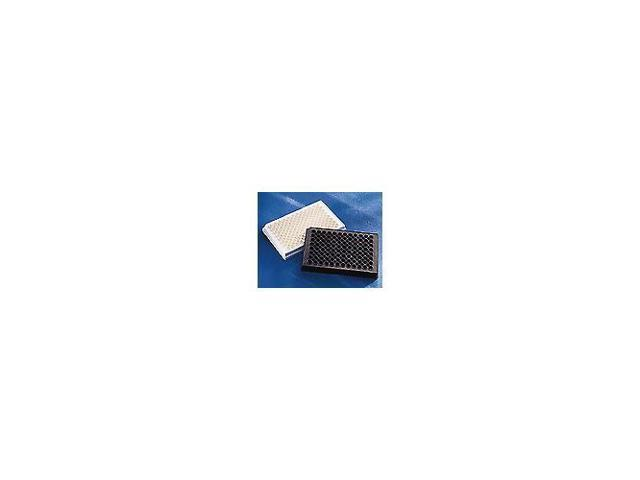 Without Lid Corning 3991 Polystyrene Flat Bottom 96 Well Solid Black Flat Bottom Microplate Case of 25