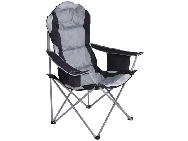 Fantastic Fishing Camping Chair Seat Cup Holder Beach Picnic Outdoor Portable Folding Bag Gray Newegg Com Pdpeps Interior Chair Design Pdpepsorg