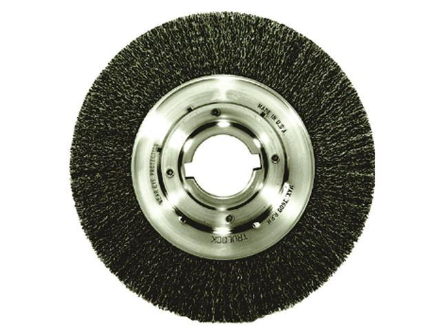 Peachy Weiler 06170 Weiler 10 X 2 Trulock Carbon Steel Medium Face 0200 Crimped Wire Wheel Brush With 1 2 X 1 4 Double Keyway For Use On Bench Pedestal Caraccident5 Cool Chair Designs And Ideas Caraccident5Info