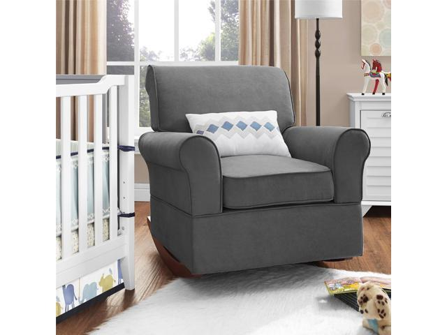 Superb Dorel Asia Baby Relax Mackenzie Rocker Gray Newegg Com Cjindustries Chair Design For Home Cjindustriesco