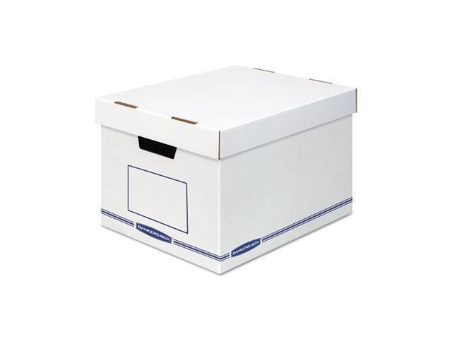 Bankers Box STOR//FILE Decorative Medium-Duty Storage Boxes Letter//Lgl Black