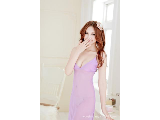 Demarkt® Women Sexy Lingerie See Through Sleepwear Pajamas Nightwear with  G-string 5b3866ab720a