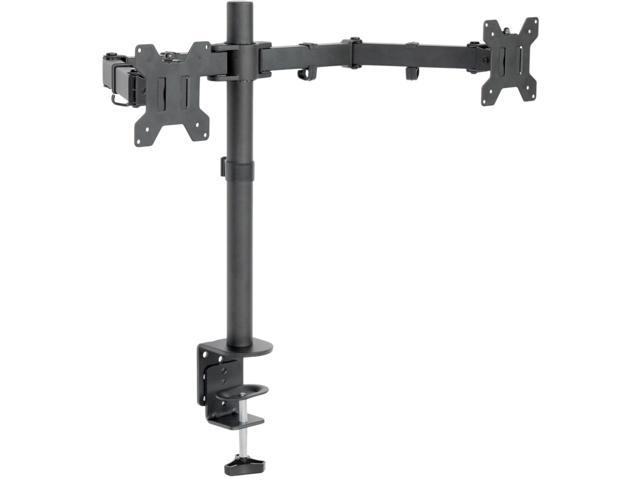 Vivo Dual Monitor Desk Mount Stand Heavy Duty Fully Adjule Screens Up To 27