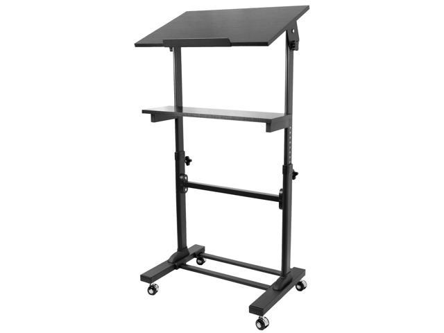 Vivo Height Adjustable Multi Purpose Mobile Podium Lectern And