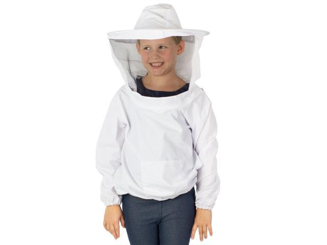 VIVO Beekeeping Youth Large Bee Keeping Suit, Jacket, Pull Over, Smock with  Veil - Newegg com