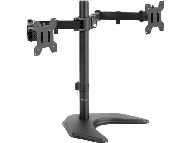 Vivo Dual Monitor Articulating Desk Stand Mount Adjule Fits Screens Upto 27