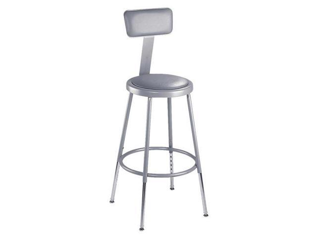 Awesome 31 39 Adjustable Metal Home Office Kitchen Stool With Padded Seat And Backrest Newegg Com Creativecarmelina Interior Chair Design Creativecarmelinacom