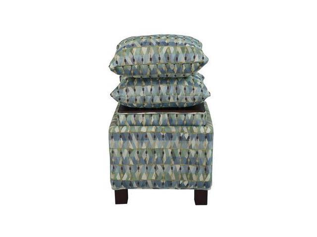 Surprising Madison Park 259250050 Madison Park Shelley Ottoman Square Storage Ottoman Green Newegg Com Machost Co Dining Chair Design Ideas Machostcouk
