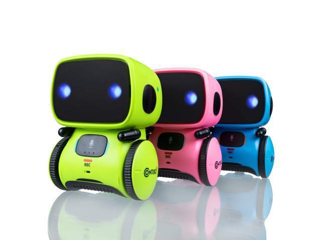Contixo R1 Kids Mini Robot Toy fr Children Infant Toddler Boys Girls Funny Small