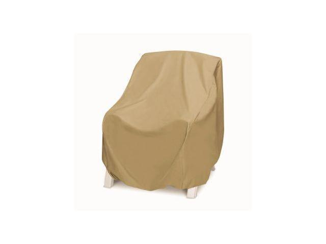 Two Dogs Oversized Chair Cover Khaki