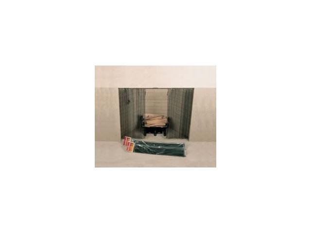 48 Quot X 22 Quot Woodfield Hanging Fireplace Spark Screen Rod