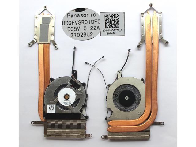 NEW for Sony SVP13223CXB SVP13223CXS SVP13224PXB CPU Cooling Fan with heatsink