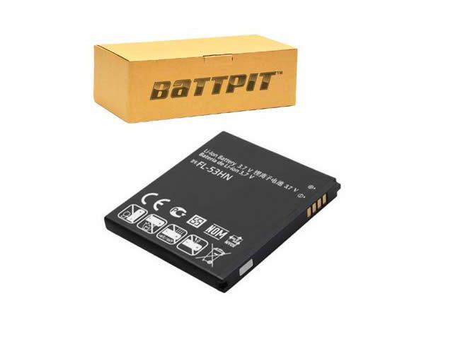 BattPit: Cell Phone Battery Replacement for LG P925 (1800 mAh) 3 7 Volt  Li-ion Cell Phone Battery - Newegg com