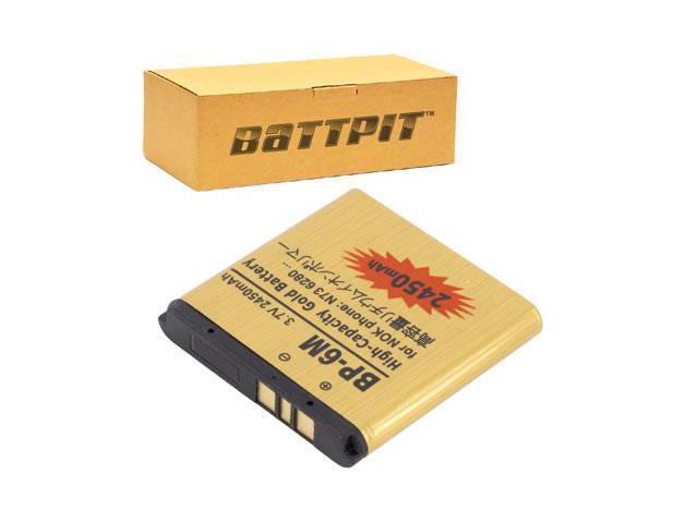 BattPit Cell Phone Battery Replacement For Nokia 6288 2450 MAh 37 Volt Li