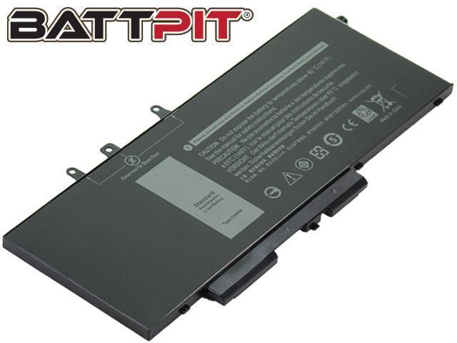 BattPit: Laptop Battery Replacement for Dell Latitude 5480, Latitude 5490,  Latitude 5590, Precision 15 3520, GD1JP, GJKNX (7 6V 8500mAh 68Wh) -