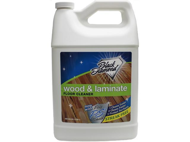 Wood Laminate Floor Cleaner Case Of 4 Gallons From Black Diamond
