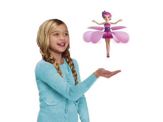 Flutterbye flying fairy doll pink flower newegg flutterbye flying fairy doll pink flower mightylinksfo