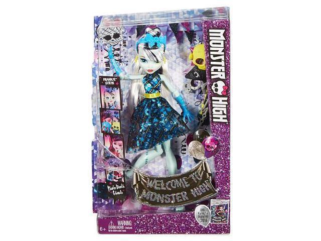 Monster High Dance The Fright Away Transforming Frankie Stein Doll Newegg Com