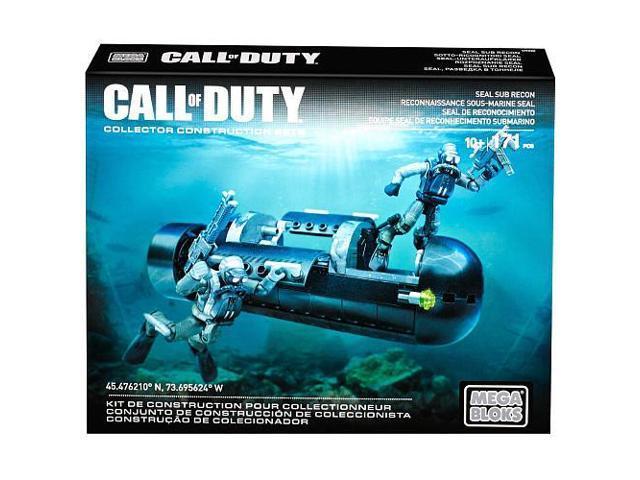 Mega Construx Call of Duty SEAL Sub Recon Building Set - Newegg com