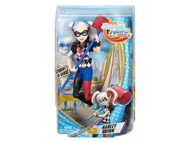 "DC Comics Super Hero Girls Harley Quinn 12/"" Action Doll Gift"