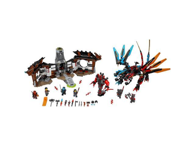 LEGO NINJAGO Dragon/'s Forge STICKER SHEET ~ Replacement for Set # 70627  NEW