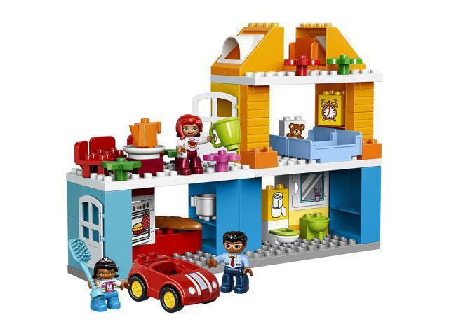 Lego Duplo Item Oil Drum Blue