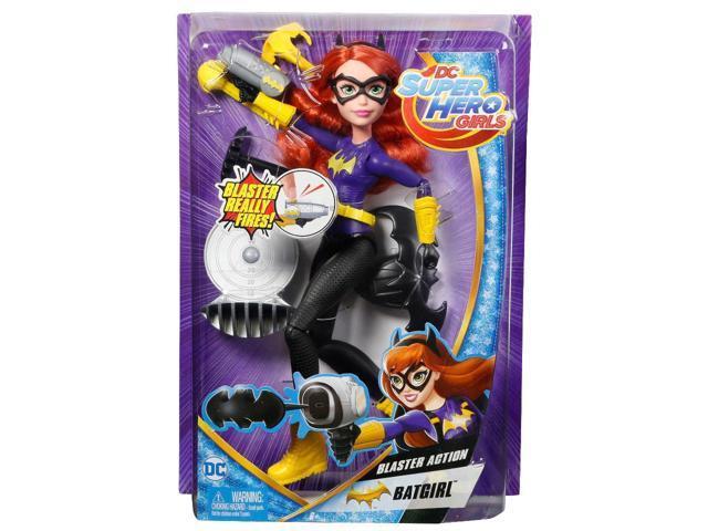 DC Super Hero Girls Blaster Action Batgirl Doll