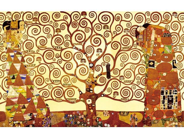 Fruit Trees by Gustav Klimt Giclee Fine Art Print Reproduction on Canvas