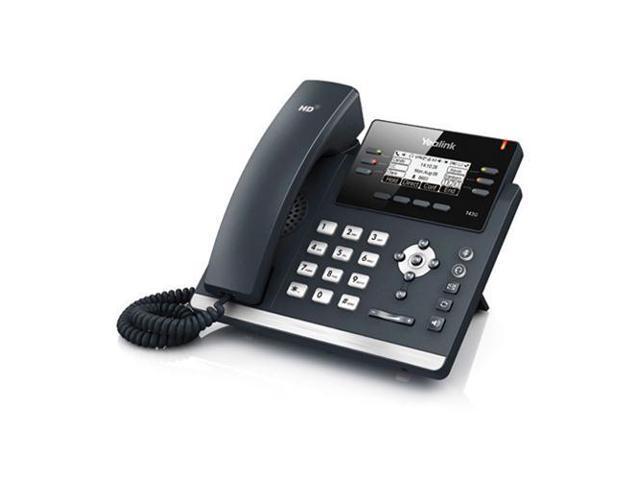 Yealink SIP-T42G Ultra-elegant Gigabit IP Phone - Newegg com