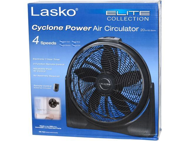 Lasko Elite Collection Cyclone Power Air Circulator 20 in - Newegg com