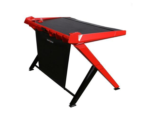 Dx Racer Gd/1000/Nr Gaming Office Computer Desk   Red And Black by Dx Racer Usa Llc