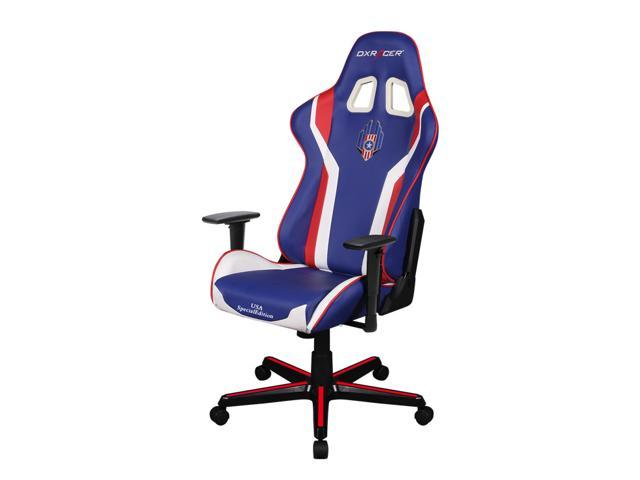 Astounding Dxracer Oh Fh186 Iwr Usa3 Newedge Edition Blue Red White Usa Special Editions Ergonomic Office Chair Esport Wcg Iem Esl Dreamhack Dxracer Gaming Seat Gmtry Best Dining Table And Chair Ideas Images Gmtryco
