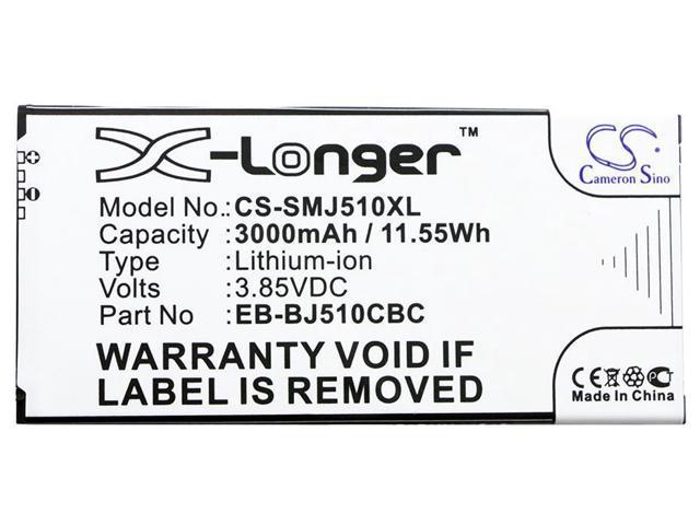 3000mAh Battery For SAMSUNG EB-BJ510CBC, EB-BJ510CBE, GH43-04601A, -  Newegg com