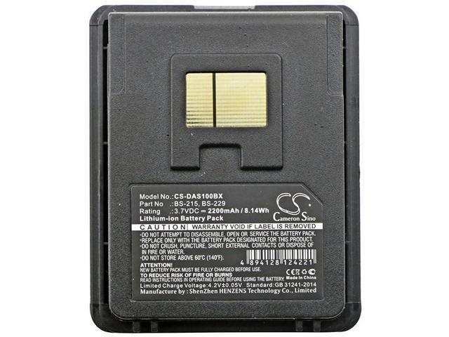 BP08-000600 1000mAh Battery For Datalogic 94ACC1368 3.70Wh ...