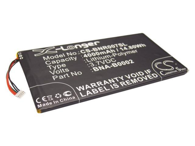 4000mAh BNA-B0002, L83-4977-266-01-4 Battery for Barnes & Noble NOOK HD 7 Tablet, BNRV400, BNTV400