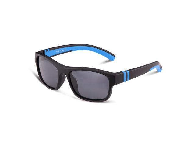 Duco Kids Sports Polarized Sunglasses with TPEE Flexible Frame K009