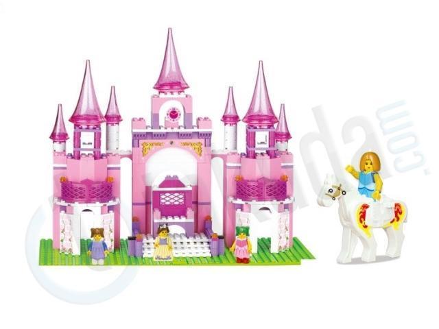 Sluban M38-B0152 learning /& education Princess series Castle 472pcs blocks toys