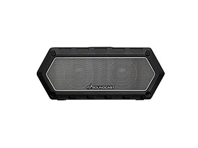 Soundcast VG1 Premium Bluetooth Waterproof Speaker- Shock Resistant -  Dynamic Full Range + Bass, Stereo Pair, Works with Siri, iPhone / Android /
