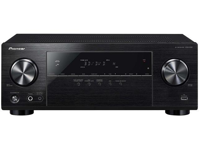 Pioneer VSX-532 5 1 Ch AV Receiver with Ultra HD Pass-Through with HDCP 2 2  (4K/60P/4:4:4) - Newegg com