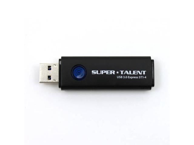 Super Talent Pico-C 64GB USB 2.0 Flash Drive Silver
