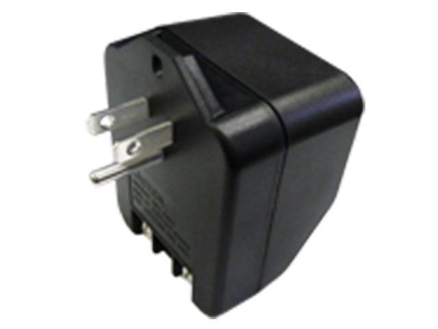 Trine 5203 Black 16VAC Plug In Type Transformer With 120 Volts ...