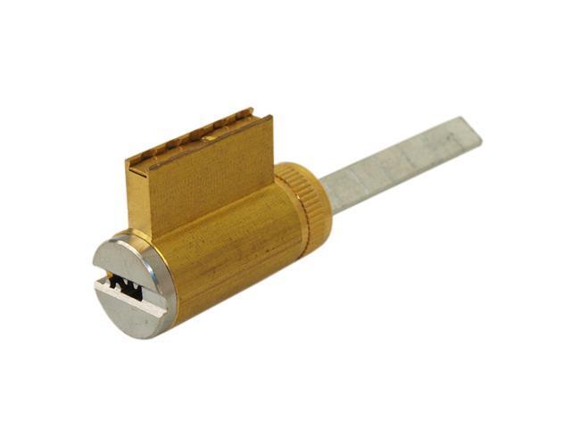 Super Lock (Like Mul-t-lock KIKSH, KIKARM, KIDSH), KIK Key In Knob &  Deadbolt Cylinder Plug Schlage & Arrow Type, Satin Chrome US26D, For Knob &  Lever