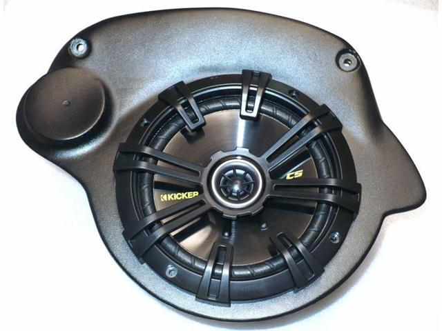 Includes Speakers 07-16 Jeep Wrangler Unlimited Speaker Pods JKU-Pods with Kicker 6.75 Speakers By Select Increments